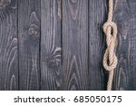 vintage old black wooden wall... | Shutterstock . vector #685050175