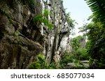 ngu hanh son moutain  da nang... | Shutterstock . vector #685077034
