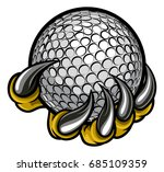 a monster or animal claw...   Shutterstock .eps vector #685109359