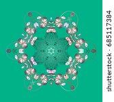 snowflake icon. snowflake... | Shutterstock .eps vector #685117384