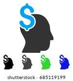 commercial intellect flat... | Shutterstock .eps vector #685119199