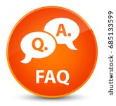faq  question answer bubble... | Shutterstock . vector #685133599