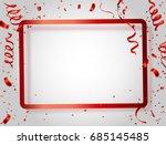 celebration background frame... | Shutterstock .eps vector #685145485