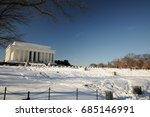 Washington Dc After A Snow...