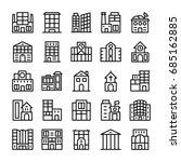 buildings  landmarks line