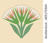 vector illustration of egyptian ... | Shutterstock .eps vector #685170364