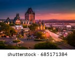 Frontenac Castle In Old Quebec...