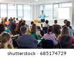business and entrepreneurship... | Shutterstock . vector #685174729