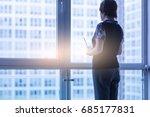 modern business woman in the...   Shutterstock . vector #685177831