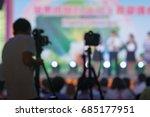 photographic equipment shooting ...   Shutterstock . vector #685177951