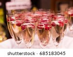 beautifully decorated welcome... | Shutterstock . vector #685183045