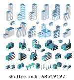 a set of urban and industrial... | Shutterstock .eps vector #68519197