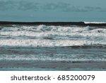 Riptide Waves In Shades Of Aqu...