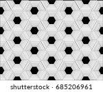 the hexagon is stacked. ...   Shutterstock .eps vector #685206961