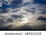 blue sky with cloud | Shutterstock . vector #685221529