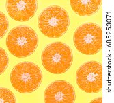 background of sliced fresh... | Shutterstock . vector #685253071