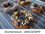 homemade  okara  doughnuts | Shutterstock . vector #685265899