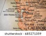 closeup selective focus of bay... | Shutterstock . vector #685271359