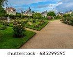 thabor park  le parc du thabor  ... | Shutterstock . vector #685299295