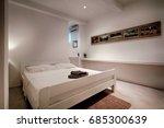komiza  vis   croatia   may 15  ... | Shutterstock . vector #685300639