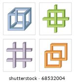 different multicolored optical... | Shutterstock .eps vector #68532004