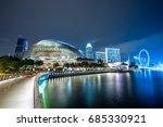 esplanade  singapore   14 june... | Shutterstock . vector #685330921
