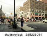 flushing  new york   july 23 ... | Shutterstock . vector #685339054