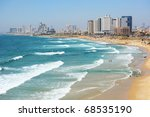 Sea Coast And The View Of The...
