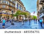 serbia  belgrade   july 26 ... | Shutterstock . vector #685356751