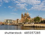 amsterdam  netherlands   may 27 ... | Shutterstock . vector #685357285