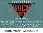 font.alphabet.script.typeface...   Shutterstock .eps vector #685358071