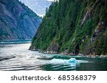 Tracy Arm Fjord Sawyer Glacier