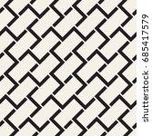 vector seamless pattern. modern ... | Shutterstock .eps vector #685417579