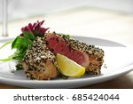 Plate With Delicious Tuna...