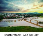 stream of life. | Shutterstock . vector #685431289