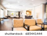 blurred cashier counter of... | Shutterstock . vector #685441444