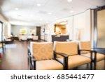 blurred cashier counter of... | Shutterstock . vector #685441477