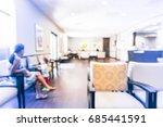 blurred cashier counter of... | Shutterstock . vector #685441591