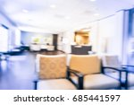 blurred cashier counter of... | Shutterstock . vector #685441597