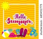 summer 3 | Shutterstock .eps vector #685452775