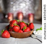 strawberries | Shutterstock . vector #685456945