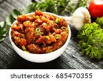 healthy meal   spicy and juicy