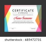 beautiful certificate template