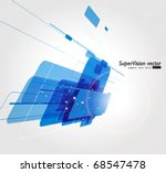 abstract background vector | Shutterstock .eps vector #68547478