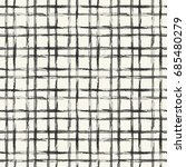 abstract  distressed grid check.... | Shutterstock .eps vector #685480279