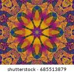 abstract background orange... | Shutterstock . vector #685513879