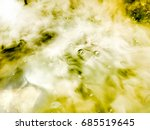 Abstract Blur Yellow Water...