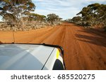 off road track in the outback | Shutterstock . vector #685520275