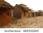 Small photo of Rural village poor house