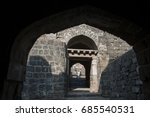 ancient daulatabad fort near...   Shutterstock . vector #685540531